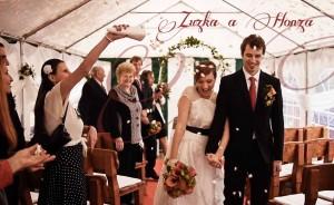 video ze svatby Zuzky a Honzy